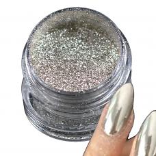 Pigmento Mirror Chrome - Effetto Specchio Argento